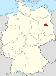 Map Berlin Deutschland